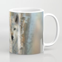 White Wolf - Focused Coffee Mug