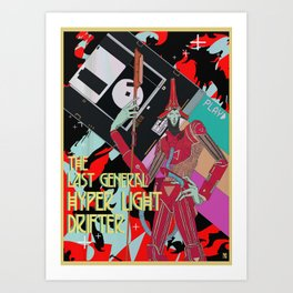 The last general hyper light drifter Art Print