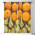 Pattern of oranges and pears by cesartorres