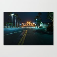 Manhattan Beach  Canvas Print