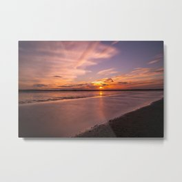 Moray Firth Sunset Metal Print