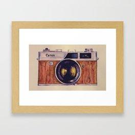 Canon QL17, Konica Auto S2 Framed Art Print