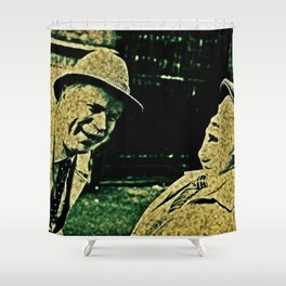 Still Game For Some Fat & Chew Shower Curtain