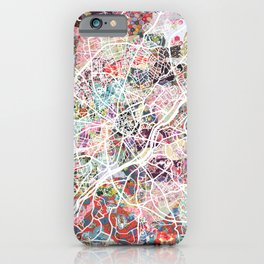 Limoges map iPhone Case