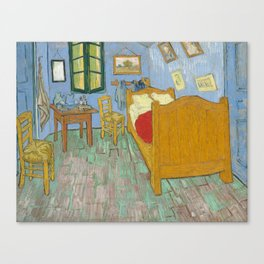 Vincent van Gogh - The Bedroom in Arles Canvas Print