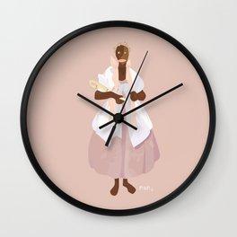 ORIXAS_ nanã Wall Clock