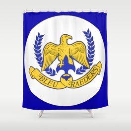 Bleu Raeders Shower Curtain