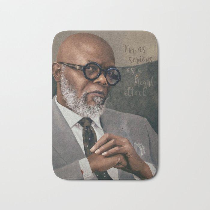 Samuel L. Jackson - Serious Bath Mat