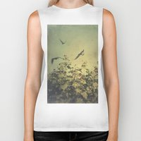 freedom Biker Tanks featuring Freedom by Victoria Herrera