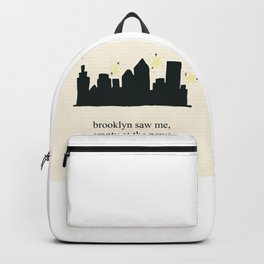 Harry Styles Ever Since New York illustration Backpack