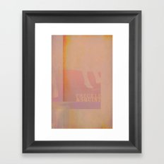 Freckle&Squint4 Framed Art Print