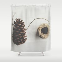 lace Shower Curtains featuring Lace by Megan Adkins Photography