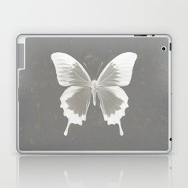 Butterfly on grunge surface Laptop & iPad Skin