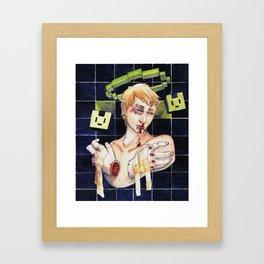 Just a little Noiz Framed Art Print