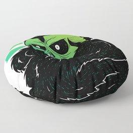 Bearded Skull Floor Pillow