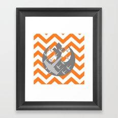 Star Wars Wraith Squadron and Chevrons Framed Art Print