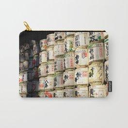 Meiji Jingu's Sake Barrels Carry-All Pouch
