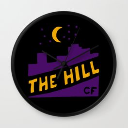 The Hill Wall Clock