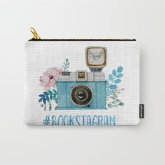 Blue Bookstagram Carry-All Pouch