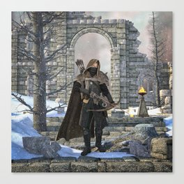 Ever Vigilant Canvas Print