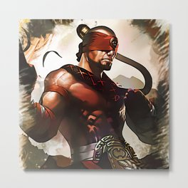 League of Legends LEE SIN Metal Print