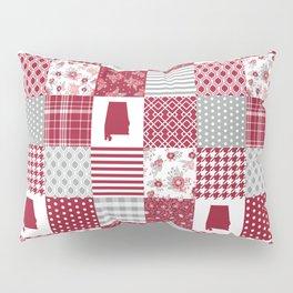 Alabama university crimson tide quilt pattern college sports alumni gifts Pillow Sham