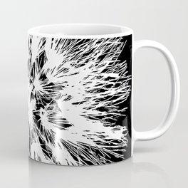 Make A Wish Dandelion Vector In White Coffee Mug