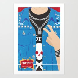 The Young Ones Poster Series :: Vyvyan Art Print