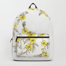 Birds and Cherry blossoms II Backpack