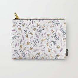 Lavender watercolor floral pattern Carry-All Pouch