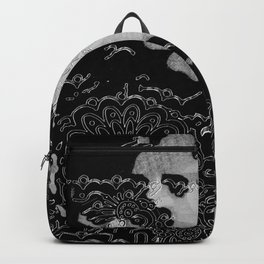 Swimming Glyphs and Sunflowers Backpack