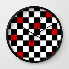 Infected Chess Wall Clock