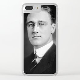 Franklin Roosevelt - Assistant Secretary of the Navy Clear iPhone Case