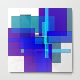 Squares combined no. 3 Metal Print