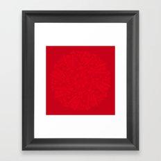 Rebel ships Framed Art Print