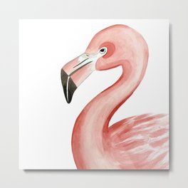 Flamingal Metal Print