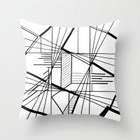 kaleidoscope Throw Pillows featuring Kaleidoscope  by Chris Klemens