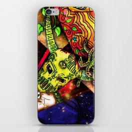 Intergalactic Guardian Constantin iPhone Skin