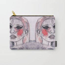 Romy in pink Carry-All Pouch