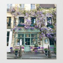 Au Vieux Paris Canvas Print