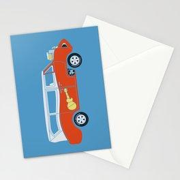 The  Monkeemobile Van Stationery Cards