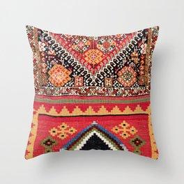 Qashqa'i Nomad Fars Southwest Persian Bag Print Throw Pillow