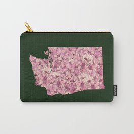 Washington in Flowers Carry-All Pouch