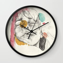 Lost in you Wall Clock