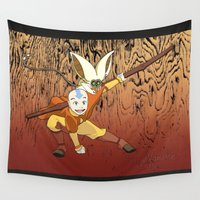 avatar Wall Tapestries featuring Avatar by SnowVampire