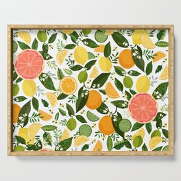 Punch Bowl Pattern Serving Tray