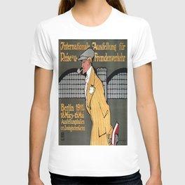 Vintage poster - Berlin T-shirt
