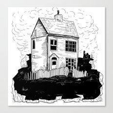 A House in Newfoundland Canvas Print