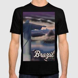 Brazil Travel poster T-shirt