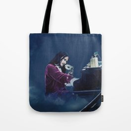 Tuomas Holopainen ''From G To E Minor'' Tote Bag